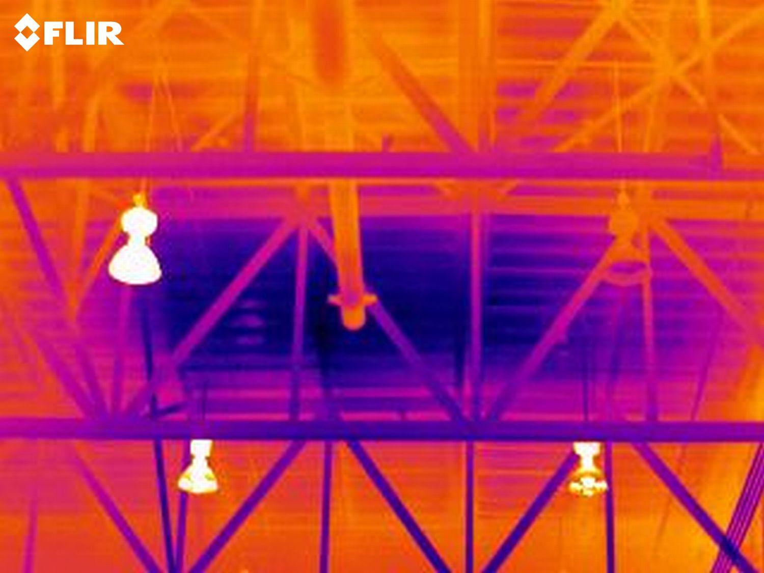 Rooftop Infrared Thermography Inspection Shows Heat Loss Areas Thermography Thermal Imaging Inspect