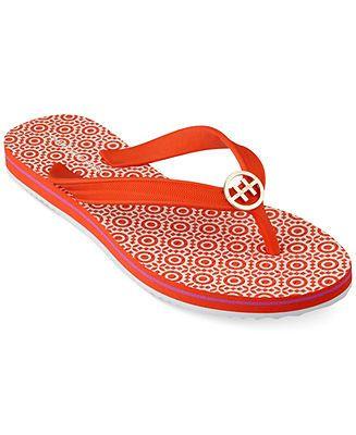 9230890b0dc3 Tommy Hilfiger Women s Rosewood Flip Flops - Sandals - Shoes - Macy s