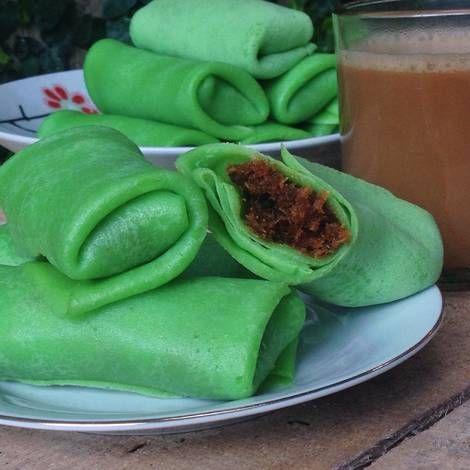 Resep Dadar Gulung Isi Kelapa Oleh Dapoer Nyonya Resep Resep Makanan Resep Kelapa