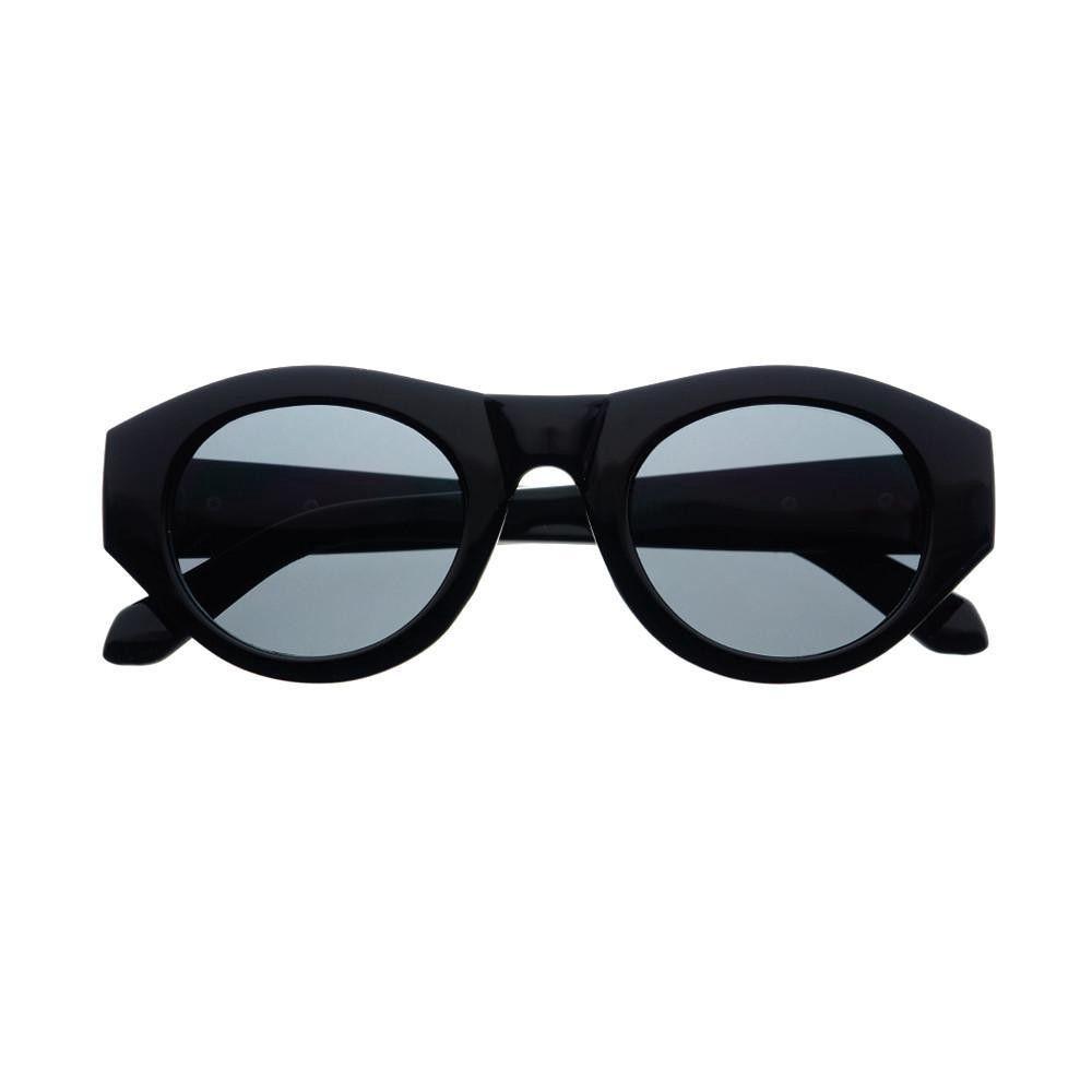 Designer Fashion Retro Style Womens Round Cat Eye Sunglasses Shades Tortoise