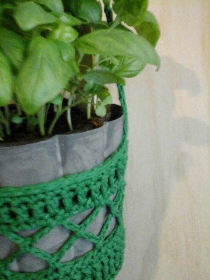 Donkergroene Plantenhanger Haken Bloom Seldensa Haken