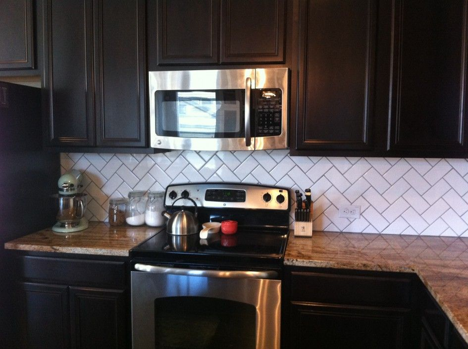 white herringbone subway tile with dark grout. Backsplash ... - White Herringbone Subway Tile With Dark Grout Stove Exhaust And