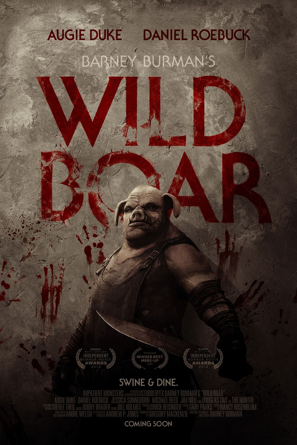 Wild Boar The Hunt Is On Upcoming Horror Movies Wild Boar Horror Movie Posters