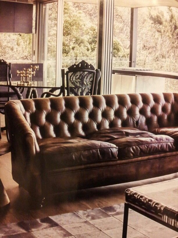 Gentlemens Club Look Aged Leather Superceded Penthouse