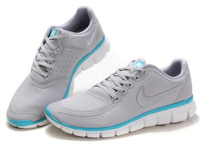 BJ1352 Laufschuh Herren Nike Free Run 5.0 V4 Grau Jade