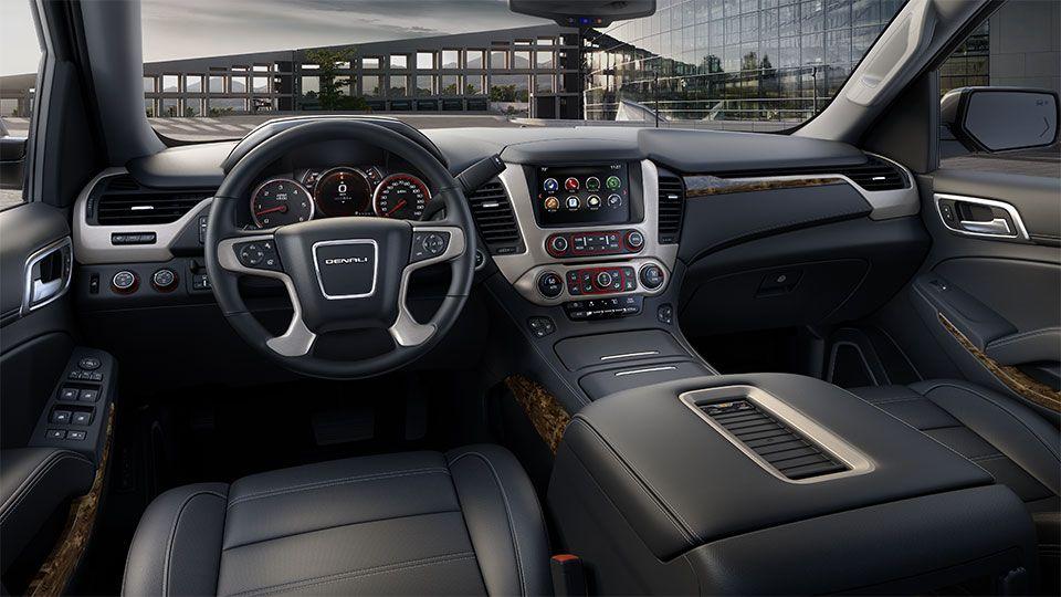 Seat Adjustment Controls On The 2016 Yukon Denali Full Size Luxury Suv