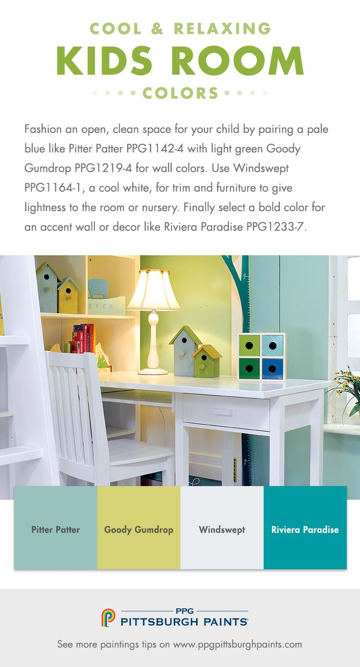 What Color Should I Paint My Kid\'s Room? | Aqua, Turquoise and Teal ...