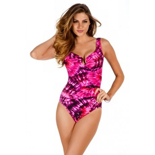 82922b6c6c5 Miraclesuit Fandance Escape Draped One Piece - Miraclesuit - Brands at  eSunWear.com