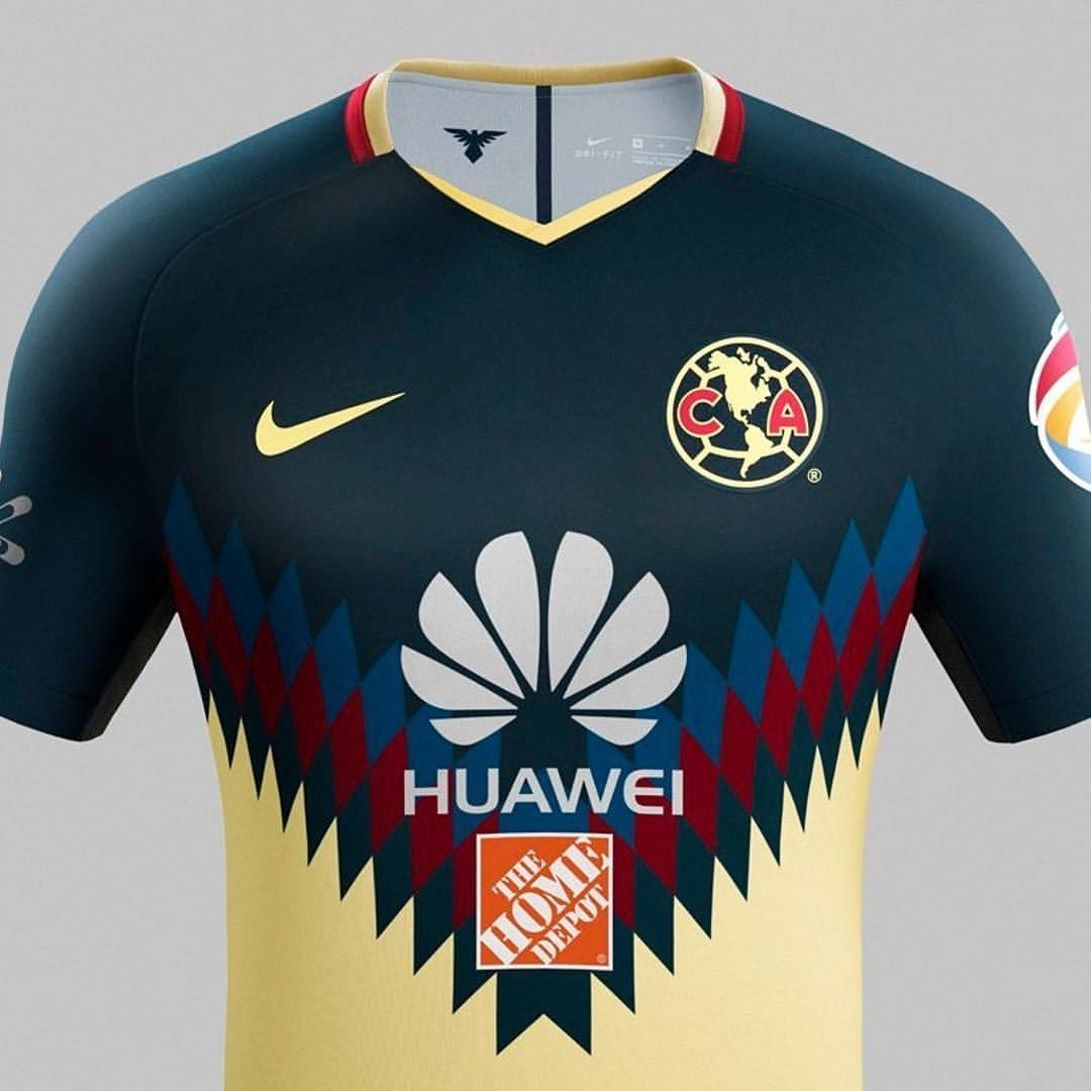 half off 0d7a8 5e97c Club America has released a stunning new Home Jersey for the ...