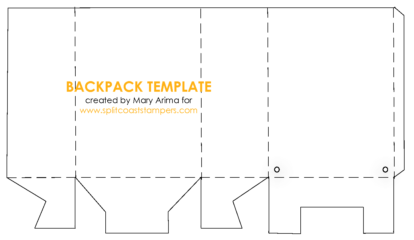 4 Awesome Backpack Template For Writing Images