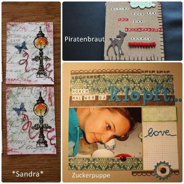 #MaterialDerWoche Stickgarn auf Layouts verwenden | www.danipeuss.de