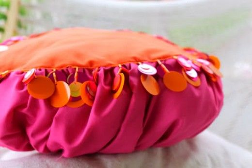Pouf Pillow Tutorial