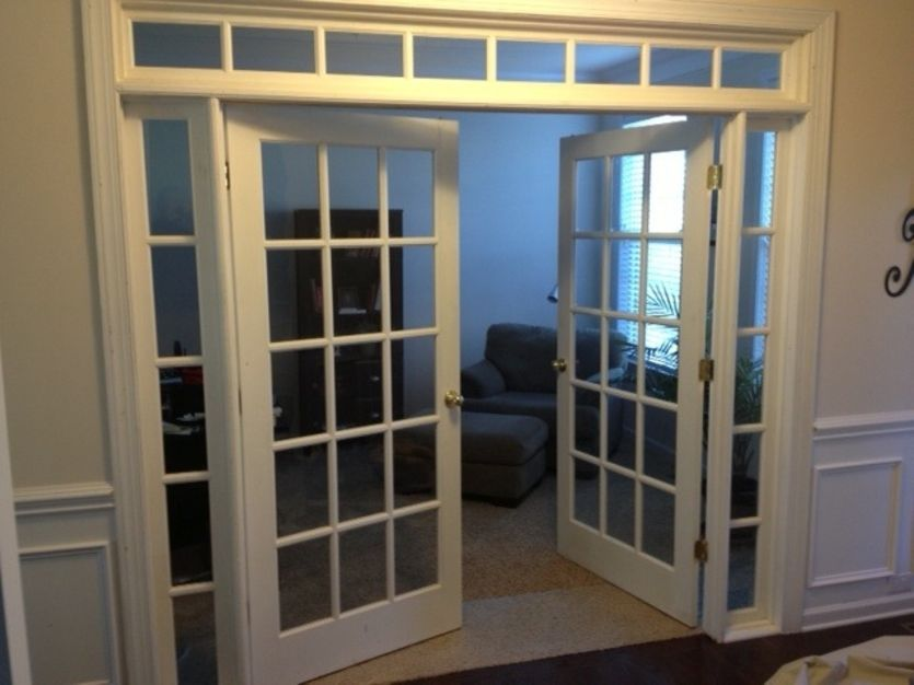 Transom french doors interior french doors for for French doors with sidelights