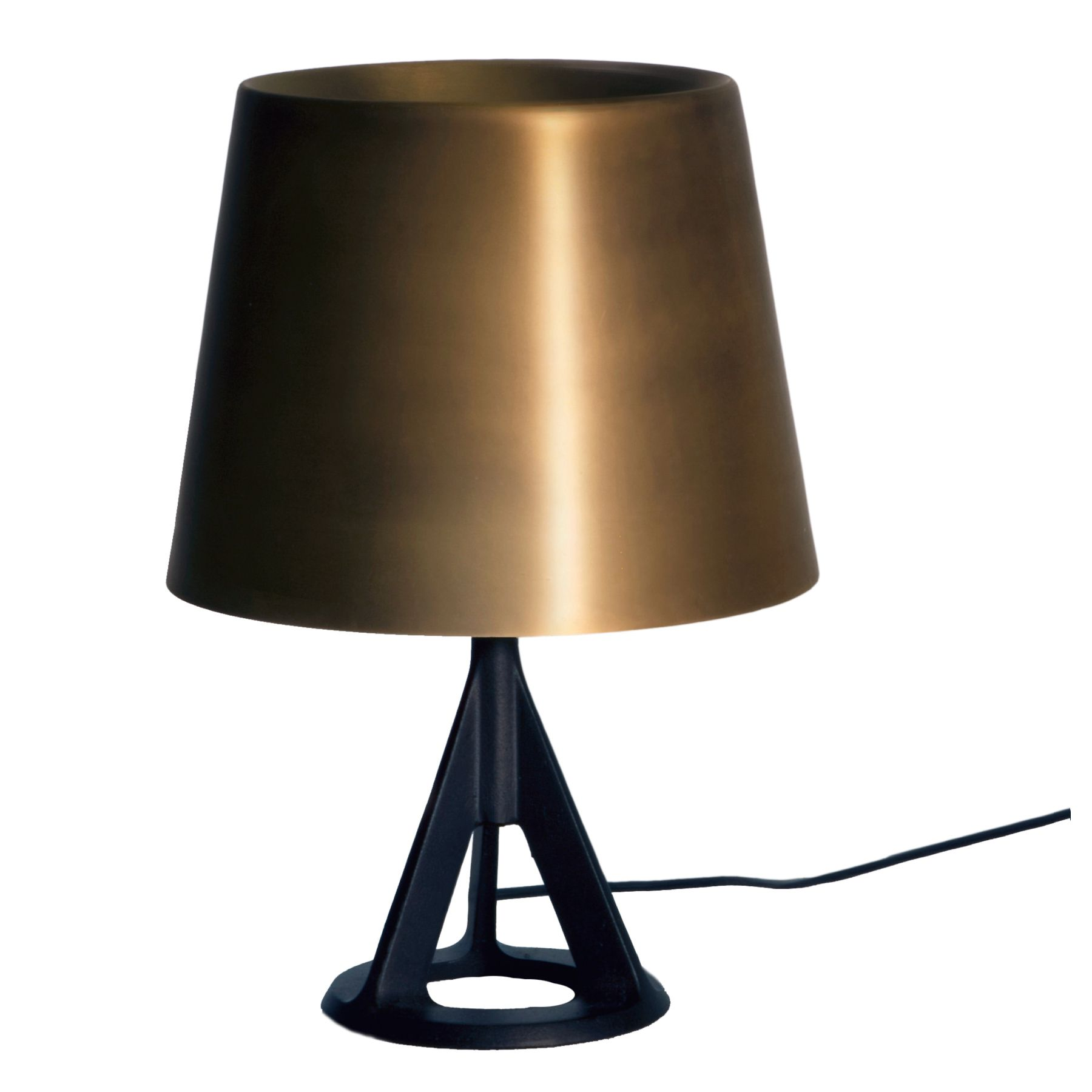 Base Table Lamp By Tom Dixon Bss01 Tusm2 Brass Table Lamps Table Lamp Lamp