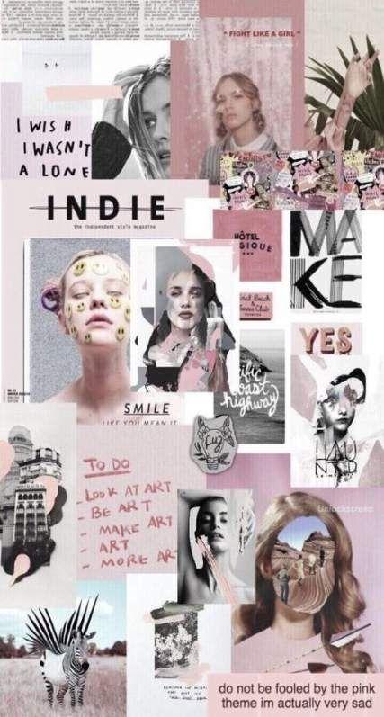 Wallpaper phone tumblr collage 25 ideas