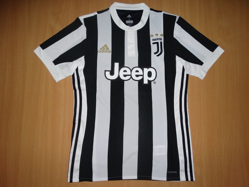 MINT JUVENTUS 2017 2018 HOME shirt S jersey camiseta JEEP (eBay Link ... ab5561ea6