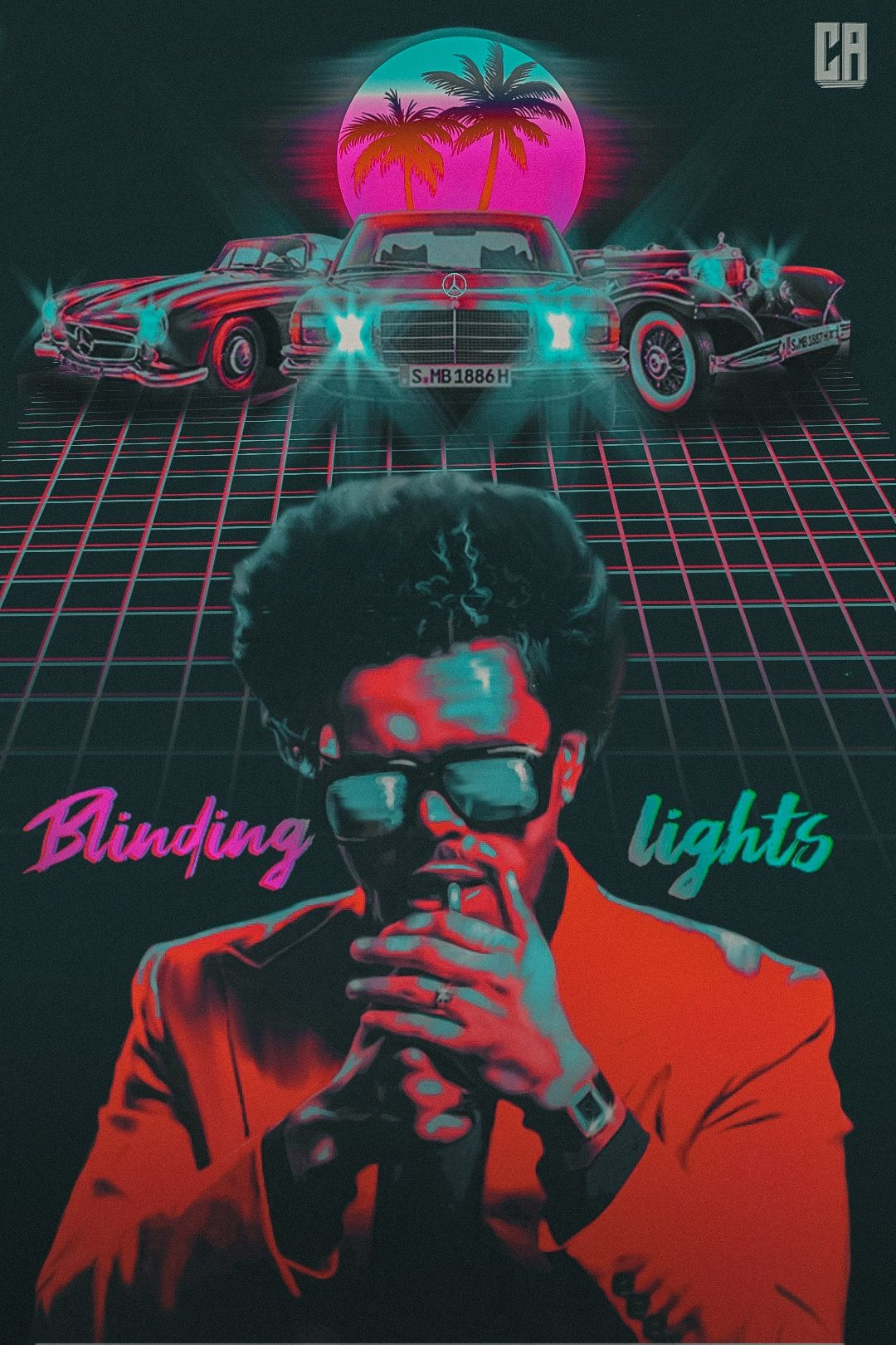 blinding lights the weeknd the weeknd