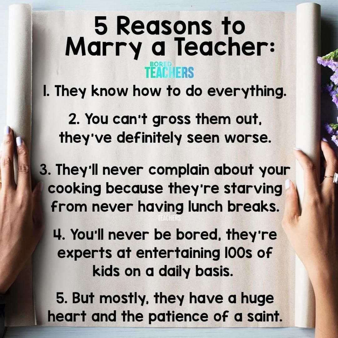 """Bored Teachers on Instagram: """"But there are many more reasons... 😉"""""""