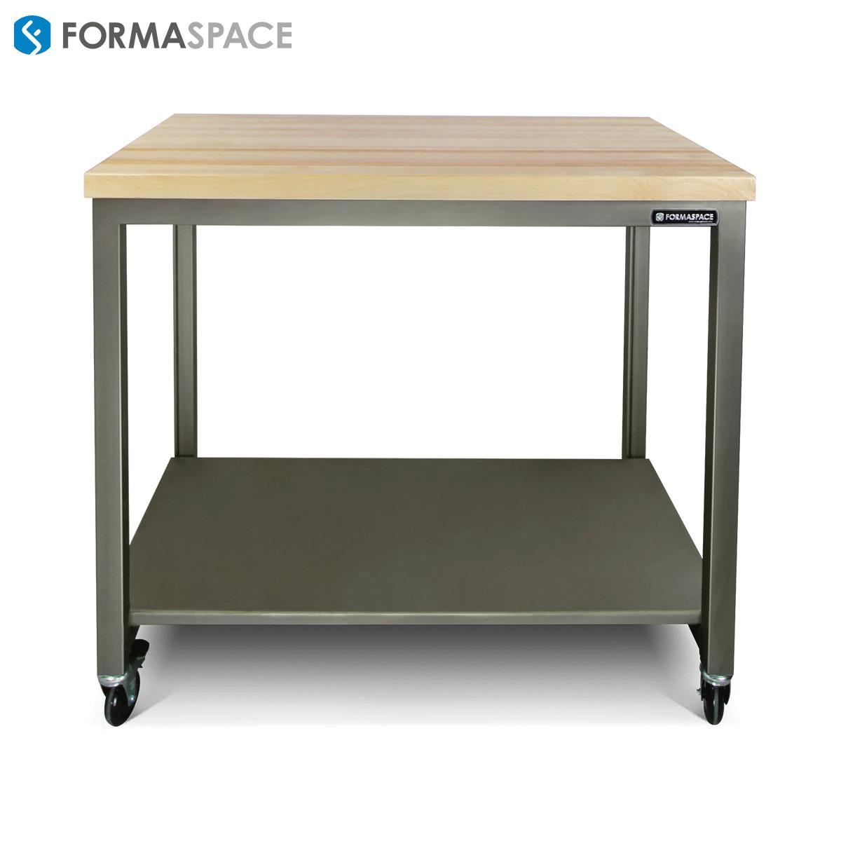Brilliant Basix With Steel Lower Shelf Formaspace This Standard Machost Co Dining Chair Design Ideas Machostcouk