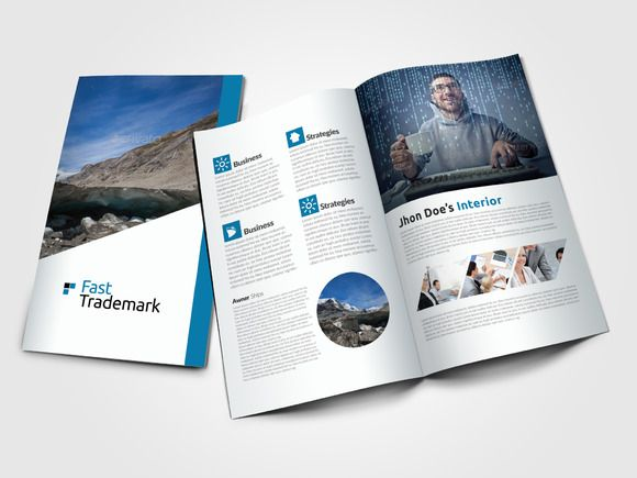 Business Bi Fold Brochure Template @creativework247 Templates