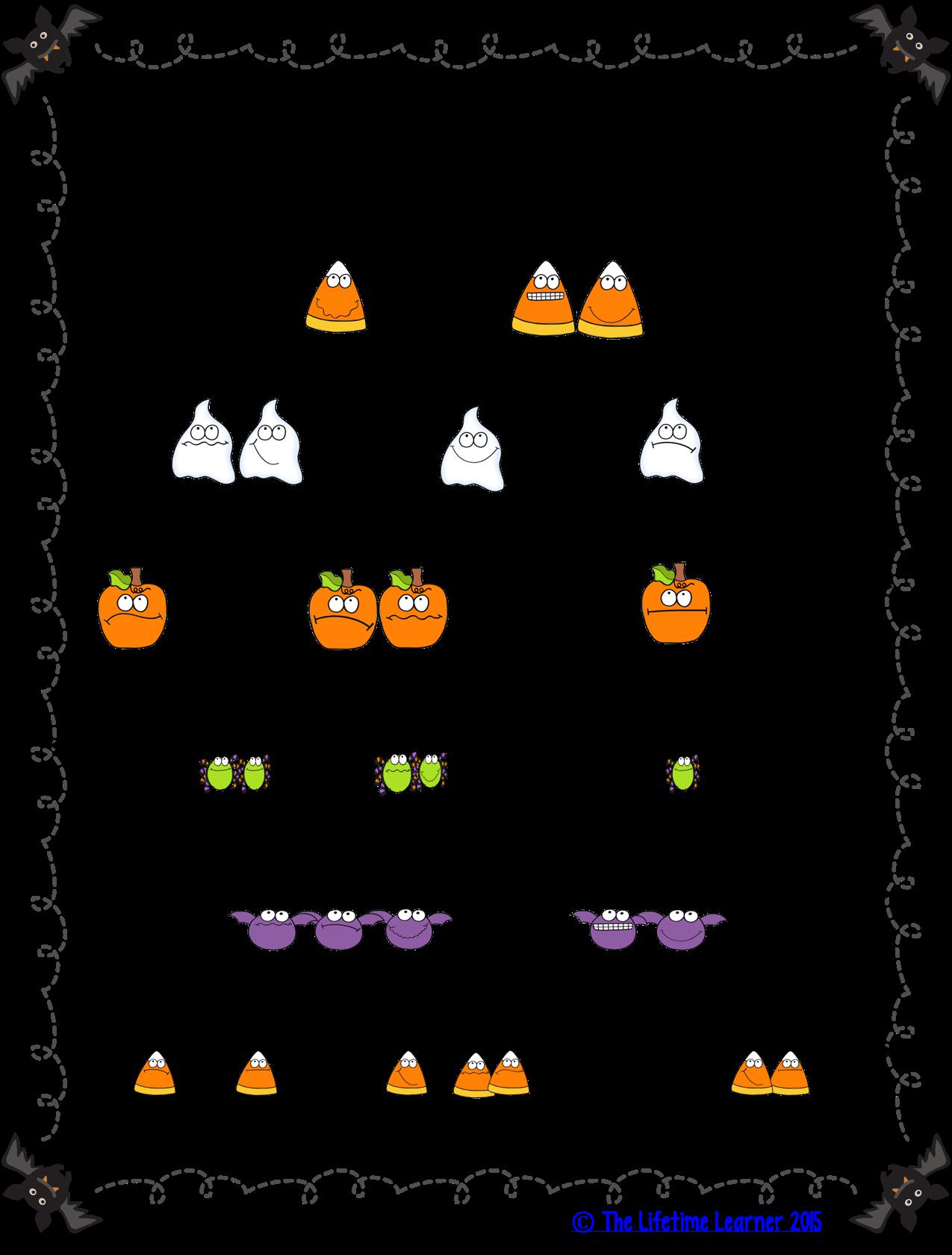 2nd Grade Halloween Math