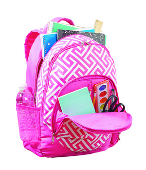 Personalized Girls Fun Print Backpack $38   Bags   Pinterest ...