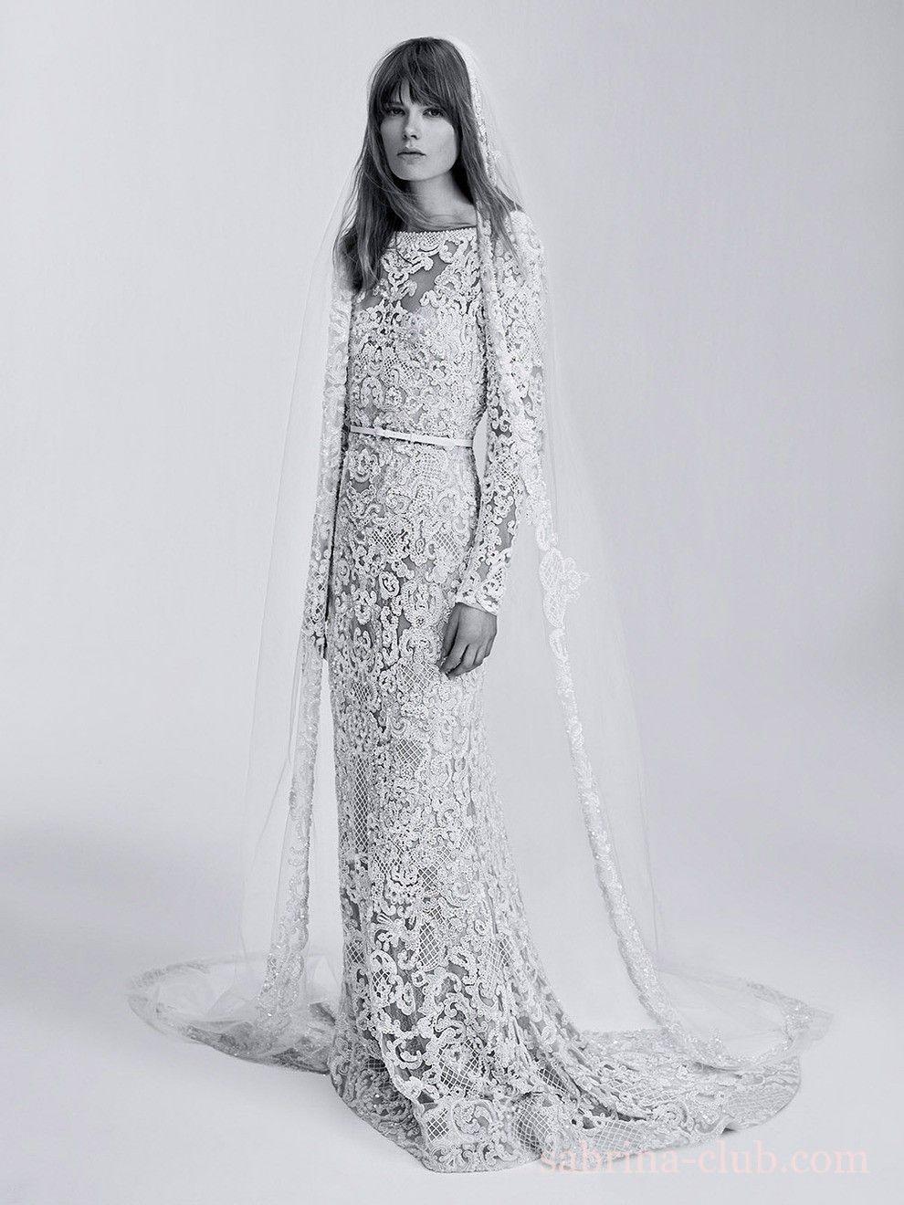 Свадебная коллекция Elie Saab | Короткое свадебное платье ...