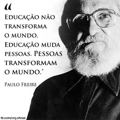 Educação Frase Educação Não Transforma O Mundo Educação Muda