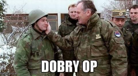 Znalezione obrazy dla zapytania: serbian soldier meme