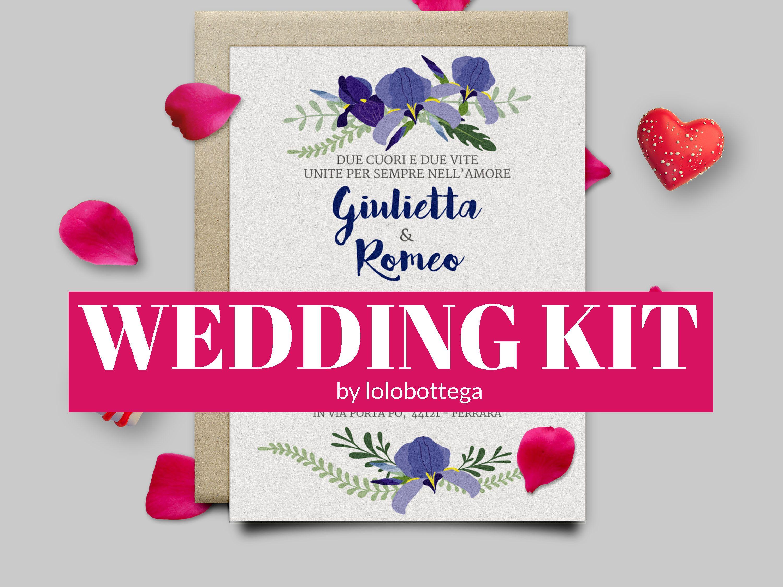 Kit Stampabili per Matrimoni – Le wedding solutions di lolobottega