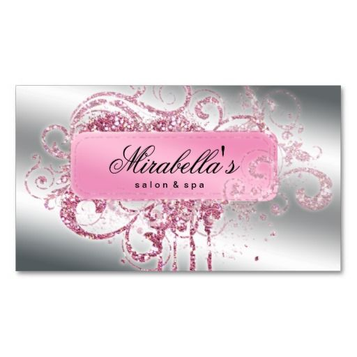 Glitter nail salon appointment elegant bling business card template glitter nail salon appointment elegant bling business card template colourmoves