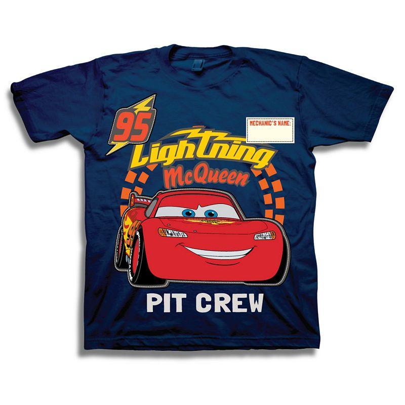 ecbe4cd9b Boys Crew Neck Short Sleeve Cars Graphic T-Shirt-Preschool ...