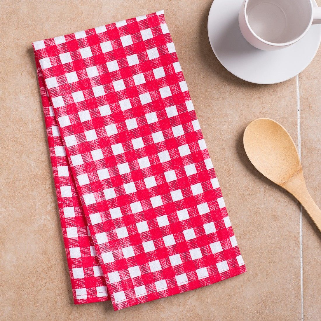 Red White Checkered Kitchen Towels Memorial Day