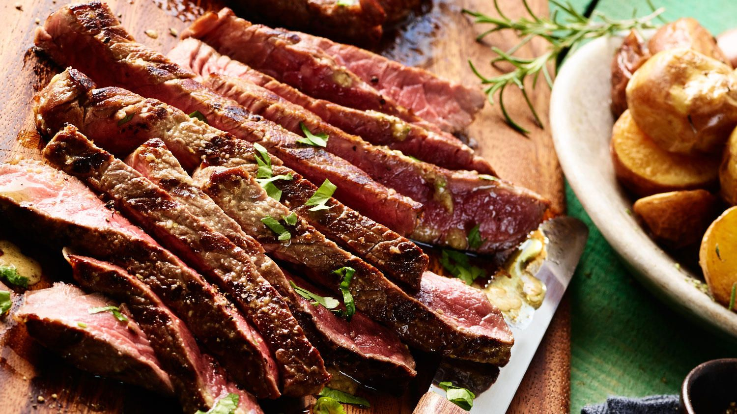 Fire up some sterling silver top sirloin steaks for your