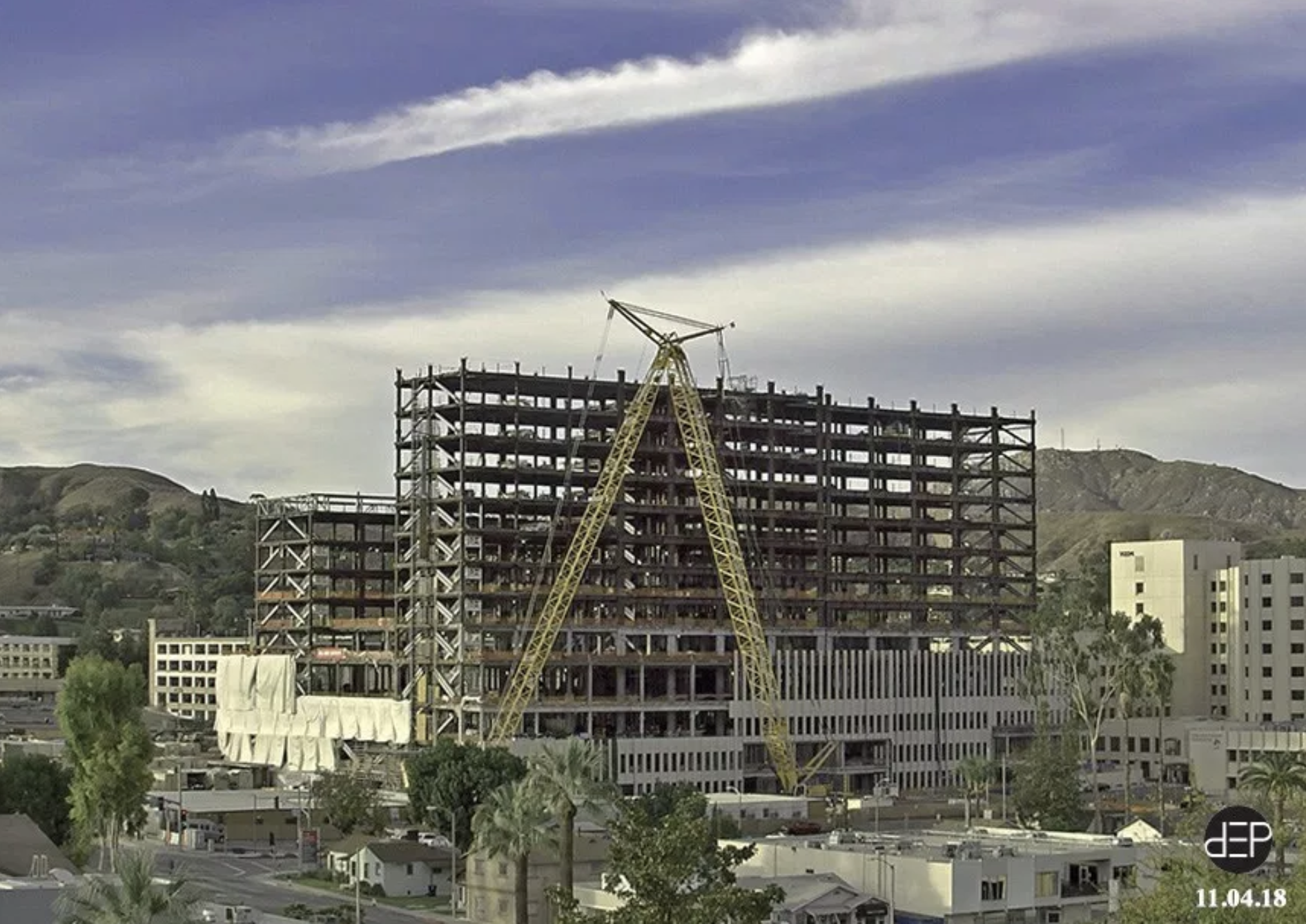 Progress Is Happening On The New Hospital In Loma Linda The General