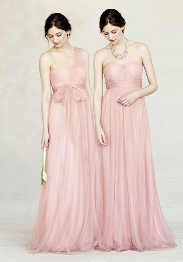 Jenny-Yoo-Annabelle-pink-bridemaid-dress | Aniołki | Pinterest