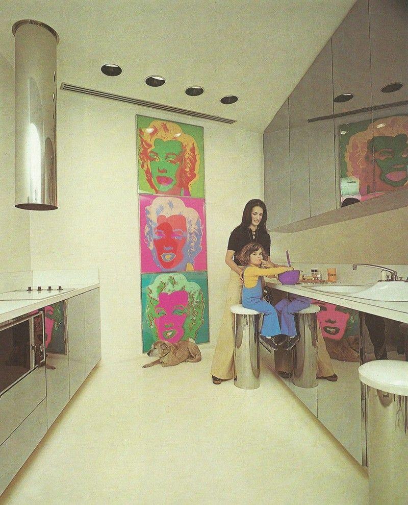 Futuristic Kitchen Stuff: Pin By Kendall Burleson On Miniature Ideas - 1970s