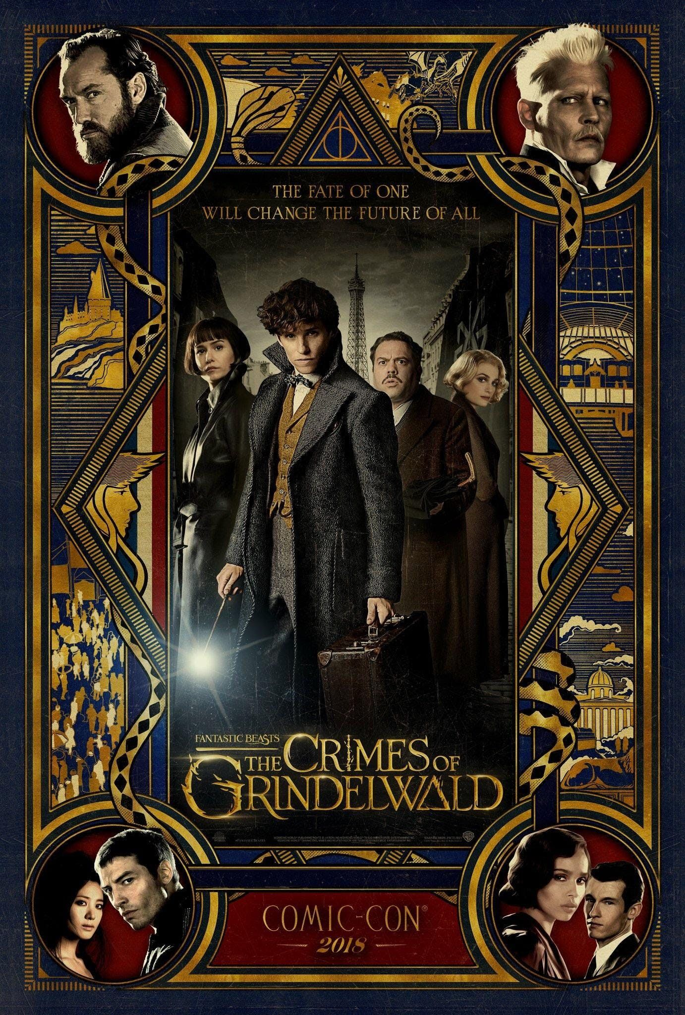 Mega Hd Fantastic Beasts The Crimes Of Grindelwald Pelicula