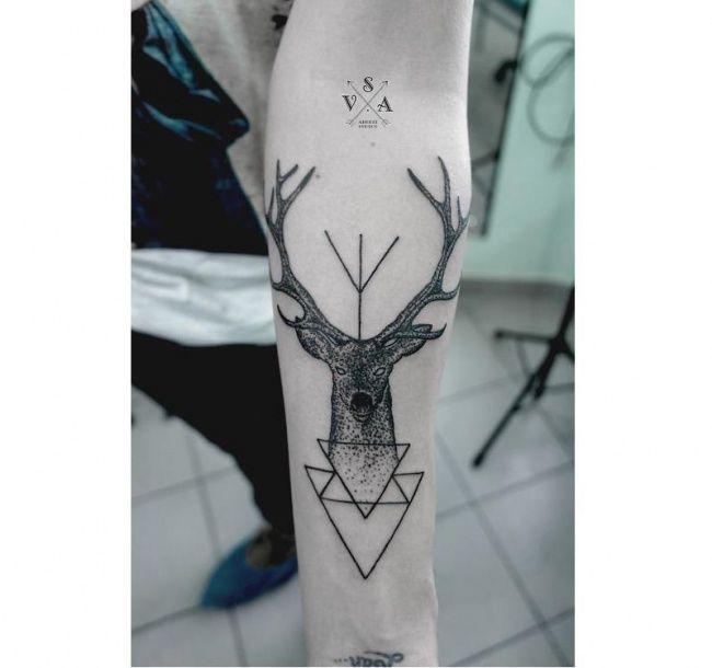 Tatuaż Geometryczny Strzałki Trójkąty Koła I Inne Modne Wzory