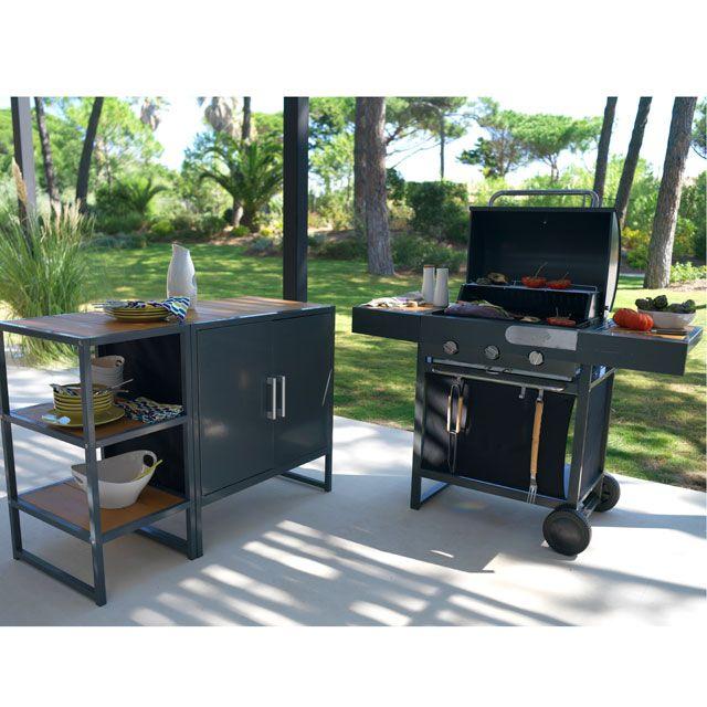 design module cuisine cuisine exterieur tag re cuisine et castorama. Black Bedroom Furniture Sets. Home Design Ideas