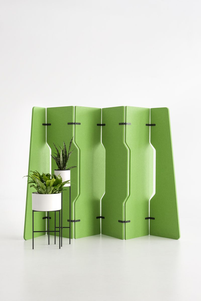 Platoon The Perfect Free Standing Acoustic Room Divider Made From 60 Recycled Materials