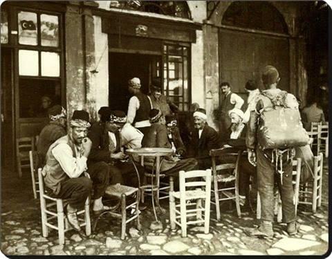 İstanbul'da bir kahvehane - 1925