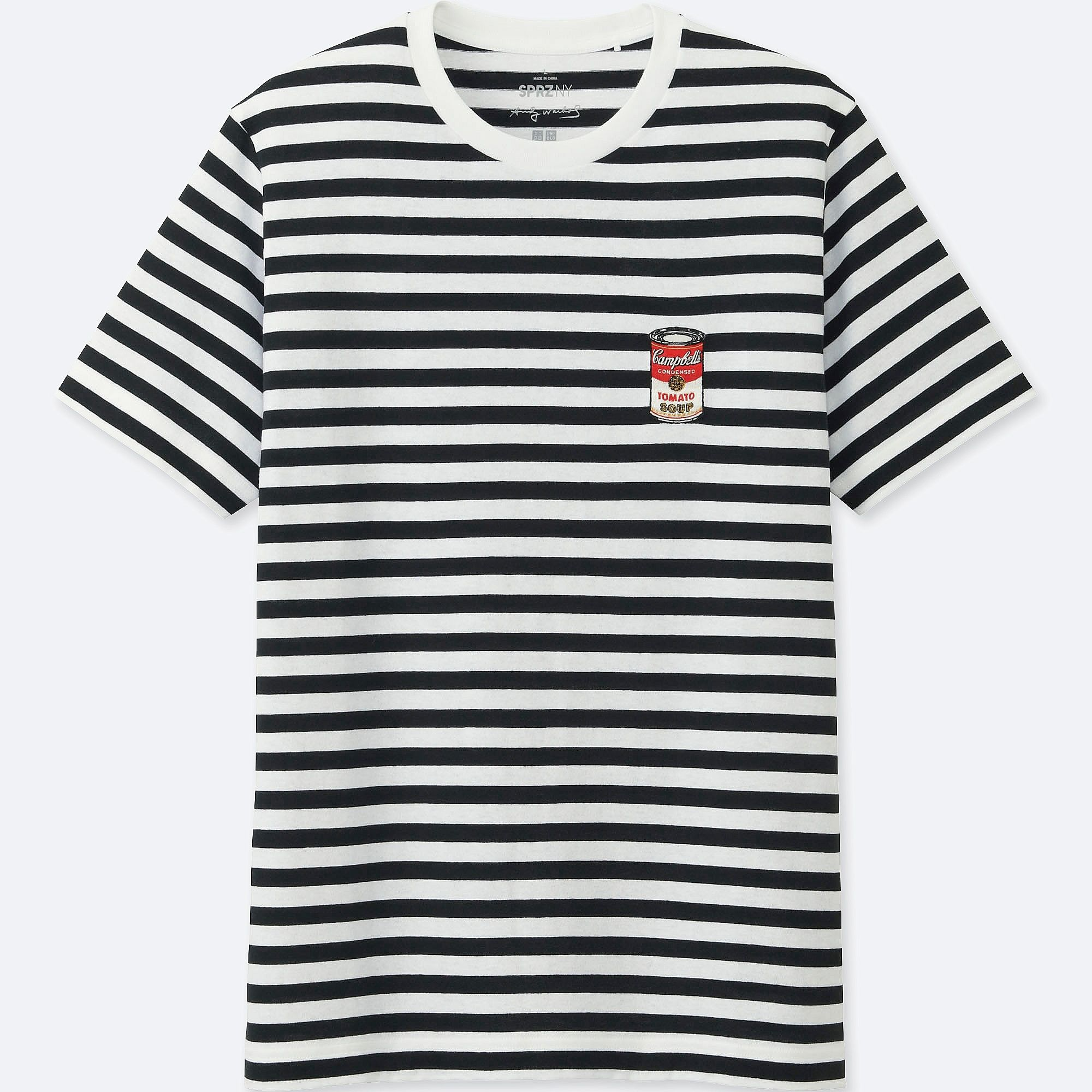 13f6af093 MEN SPRZ NY GRAPHIC T-SHIRT (ANDY WARHOL) | UNIQLO UK | Campbell's ...