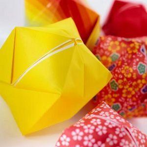 origami bola