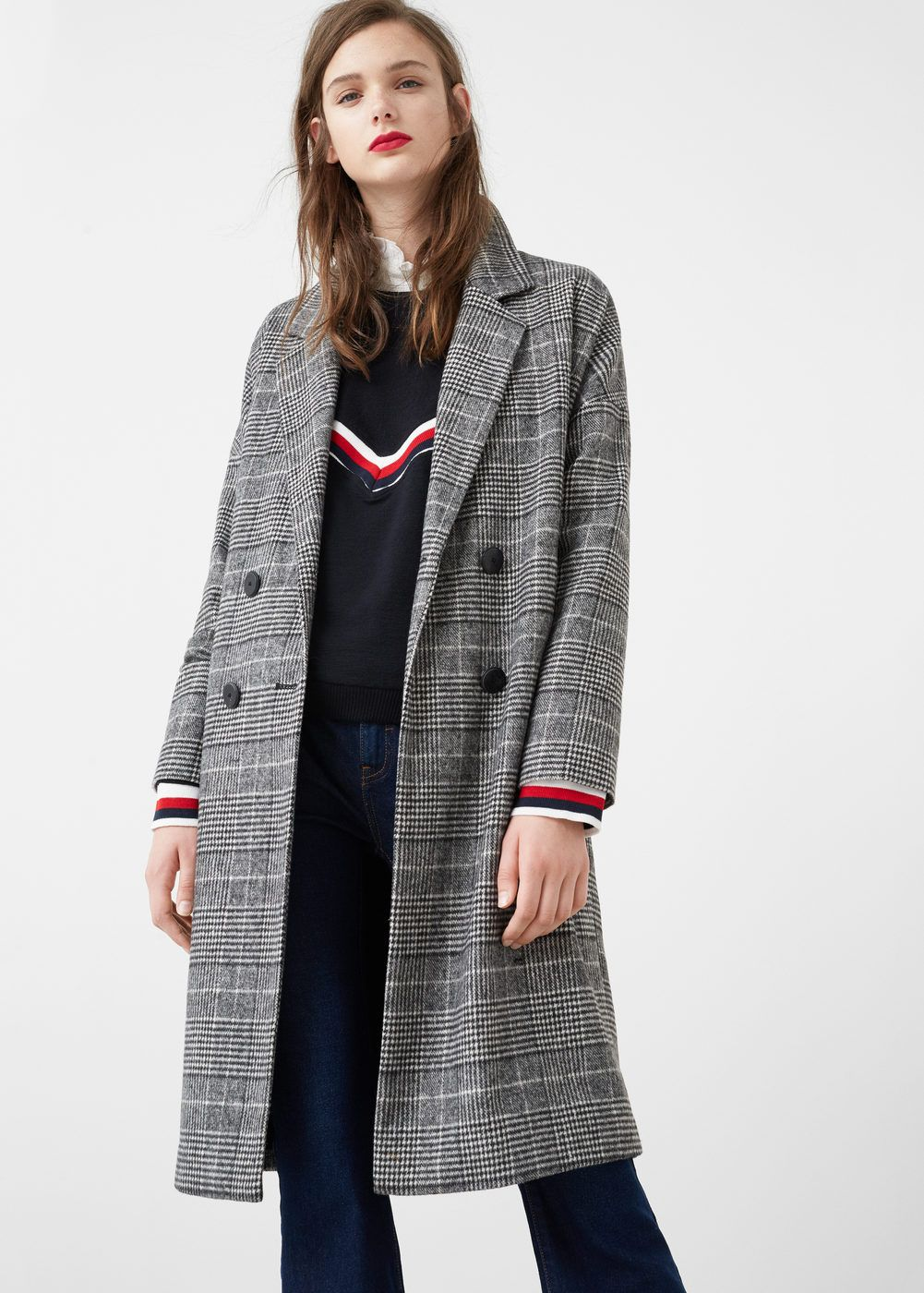 Prince of wales coat | Coats and Grunge