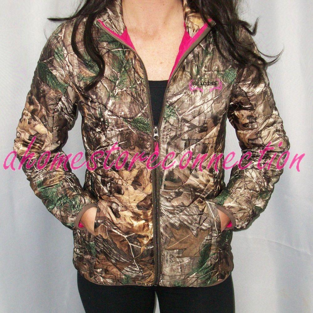 Womens realtree camo jackets