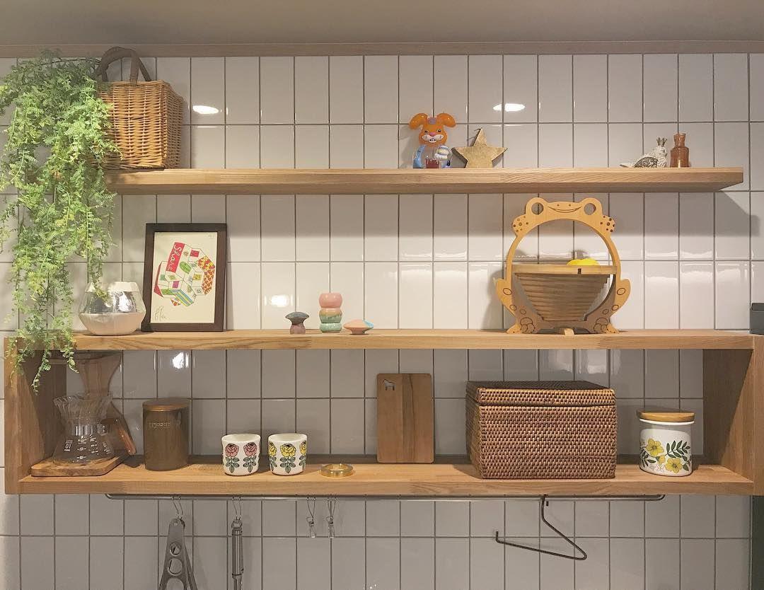 Yuka On Instagram キッチン 昔から ごちゃごちゃ したのが