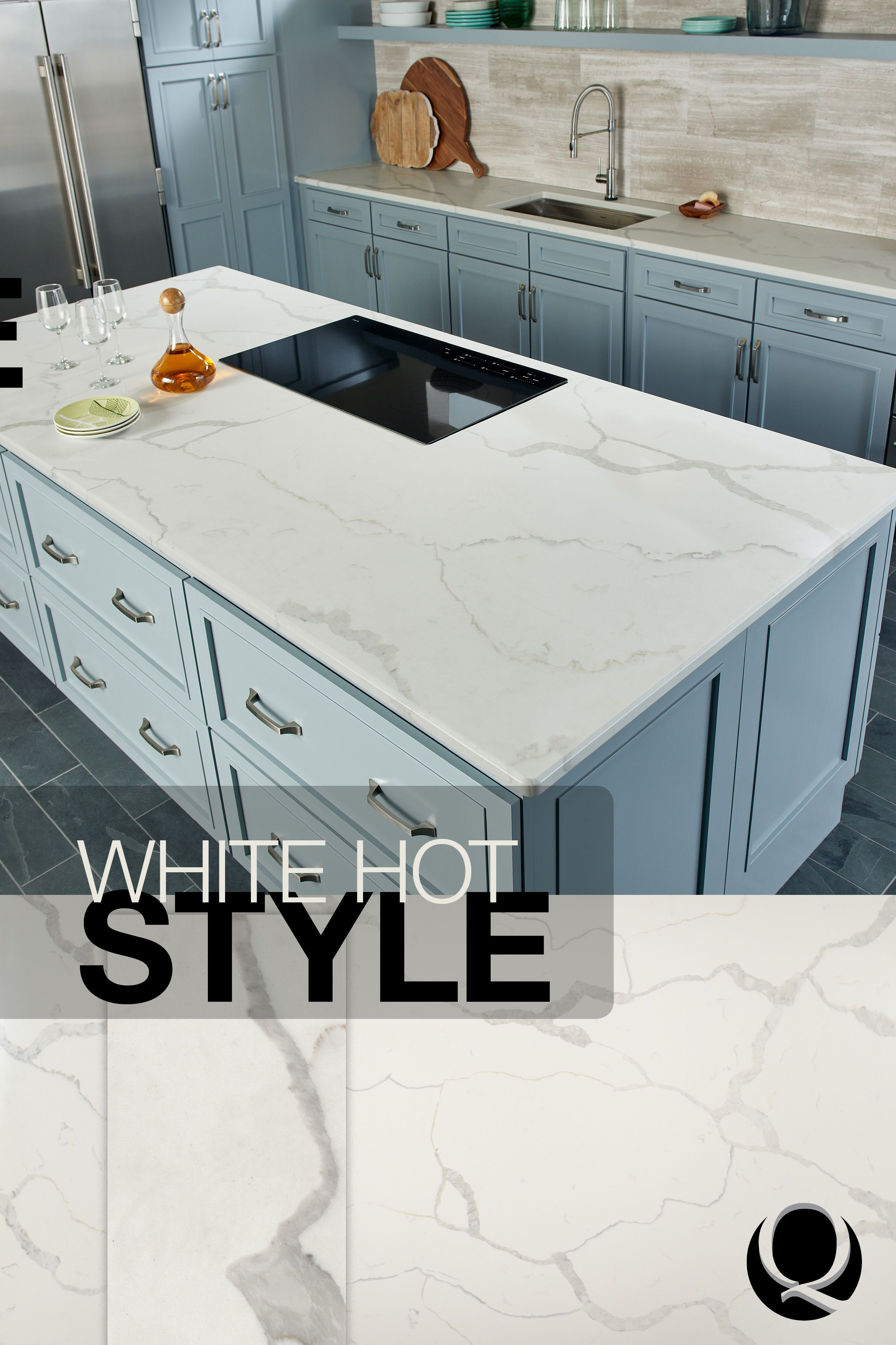 Dreamy White Countertops Are All The Rage Beloved By Homeowners