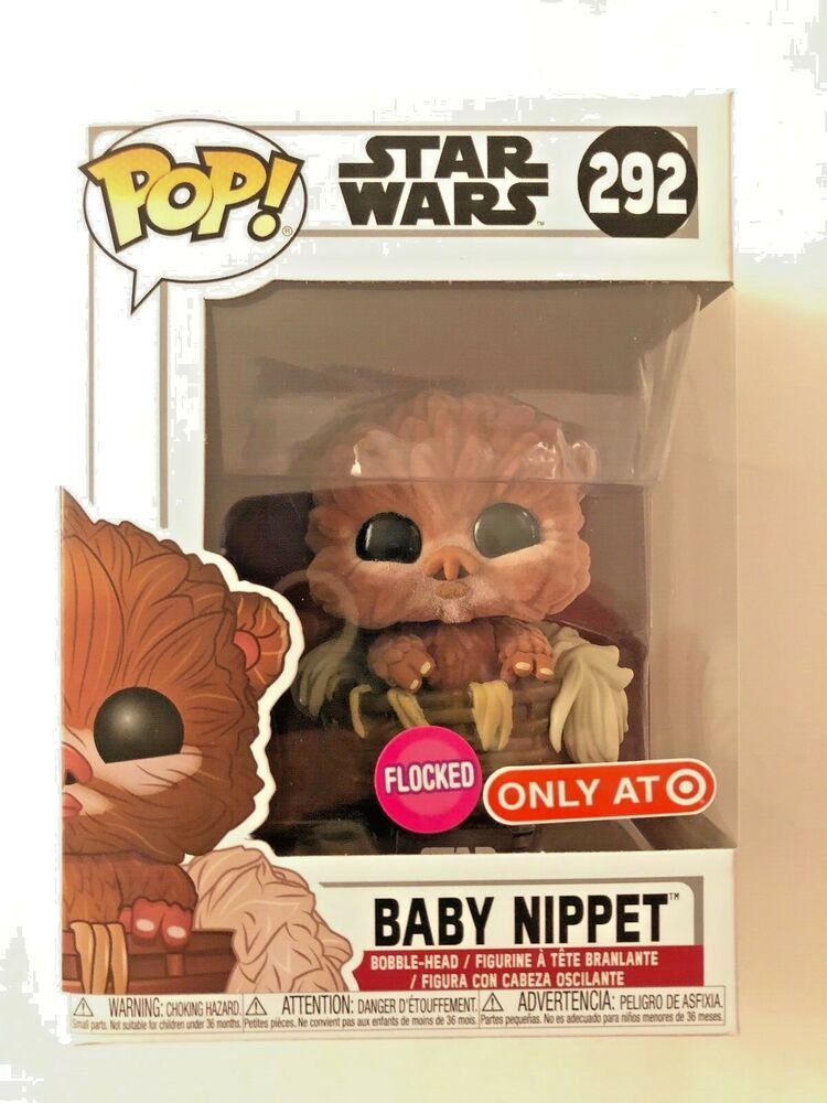3d49f4bbd1f Funko POP! Star Wars  Baby Nippet  292 - Flocked Target Exclusive NEW