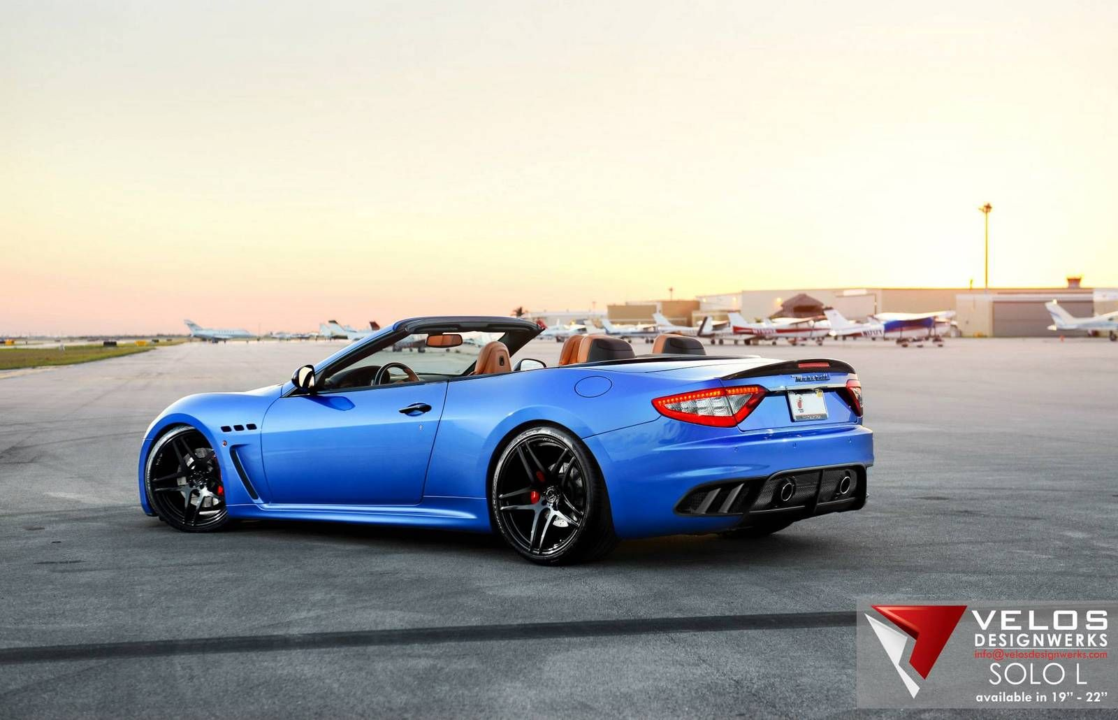 Blue Maserati GranCabrio | While The Maserati GranCabrio MC Is Stunning,  Possibly The Best .